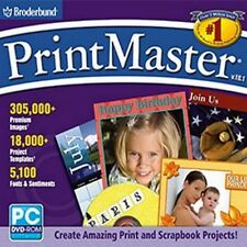 Printmaster Platinum 18.1 PC Windows XP Vista Win 7 8 10 DVD-ROM Sealed New