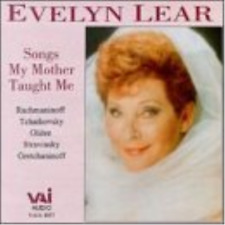 VARIOUS/EVELYN LEAR-Songs My Mother Taught Me CD NEW