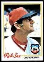 1978 Topps Break 3 Carl Yastrzemski Boston Red Sox #40