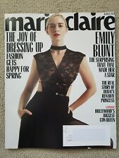 Emily Blunt Marie Claire Magazine March 2020