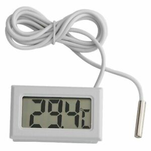 LCD Digital Thermometer and Probe suitable for fridge freezer cooler chiller