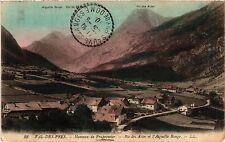 CPA   Val-des-prés- Hameau de Prapremier - Pie des Acles et l'Aiguille (454094)