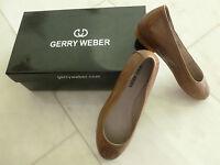 Gerry Weber Leder Schuhe, Silvia Ballerinas, braun,  Gr. 36, Neu