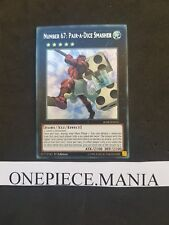 Yu-gi-oh! BLRR-EN031 NUMBER 67 : PAIR-A-DICE SMASHER Secret Rare (BLRR-FR031)