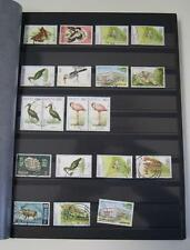 KENYA Stamp Stock Book Binder Collection 16 pages 400+ stamps LV01618