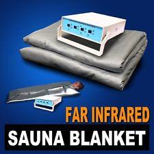 Digital FIR Far Infrared Sauna Slimming Blanket Weight Lose Spa Detox 3 Zone