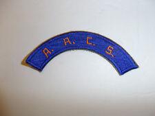 b2902  WW2 USAAF US  Army Air Force tab A.A.C.S. Army Airforce Como System R13C