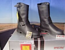 7098G TCX Custom Tall Gore-Tex Boots Black Men Motorcycle Rider EU 47 US 12.5 HB