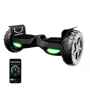 Swagtron T6 Off-Road Hoverboard Bluetooth Adults Electric Scooter Self-Balancing