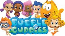 "Bubble Guppies Iron On Transfer 4.25""x7.5"" for LIGHT Colored Fabric"