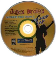 Dance Praise Expansion Pack Volume 2- Hip-Hop & Rap NEW Limited Supply 35 songs