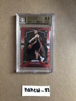 2019-20 PANINI PRIZM TYLER HERRO #259 RUBY WAVE RED ROOKIE RC BGS 9.5 GEM HEAT