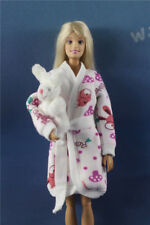2 PCS Outfits NIGHTGOWN+Plush Toy For Barbie doll Clothes a14