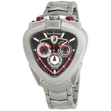 Lamborghini Spyder Black Dial Mens Chronograph Watch 12H-1