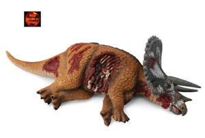 Triceratops Dino Prey Dinosaur Corpse Toy Model by CollectA 88528 Brand New