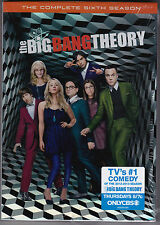 The Big Bang Theory - The Complete Sixth Season - DVD (R1 Brand New Sealed)