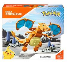Mega Construx Pokemon Charizard Building Set, pokemon charizard NEW SEALED
