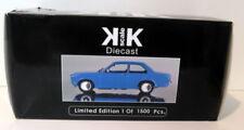 Véhicules miniatures bleus pour Opel 1:18