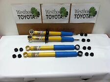 Toyota Tacoma PreRunner 1998-2004 OEM Genuine New Front and Rear Bilstein Shocks