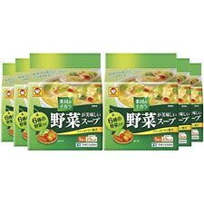 Freeze dry vegetable delicious soup Chinese style 5P × 6 bags - From Japan F/S