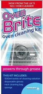 Brand New Heavy Duty and Benefical Oven Bright Oven Cleaning Kit