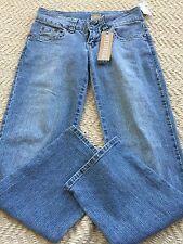 HYDRAULIC Junior Girls Straight Leg Blue Wash Jeans Size 5/6, NWT