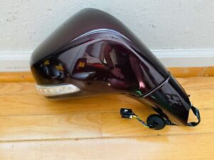 17-19 Buick Encore Passenger Mirror - 6 Wire - Black Cherry Metallic - OEM✅ 859U