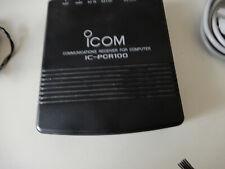 ICOM PCR-100 Communications  receiver pc controlled