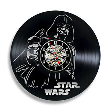 Join the Dark Side Star Wars_Exclusive wall clock made of vinyl record_GIFT