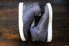 $200 Diadora Heritage MI BASKET Power Mens Hi Top Sneaker 100% Leather - US 9.5