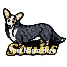 Cardigan Welsh Corgi Custom Iron-on Dog Patch With Name Personalized Free