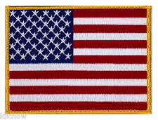 USA (Stars and Stripes) embroidered Patch 12CM x 9CM approx