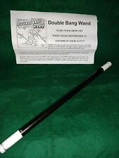 Morrissey Magic Double Bang Magic Wand Rare All Metal Professionals Only