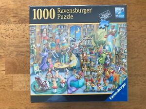 Midnight at the Library- 1000 Piece Puzzle by Ravensburger (Brand New)