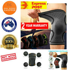 Physio Knee Support Brace Compression Sleeve Arthritis Pain Relief Gym Sports