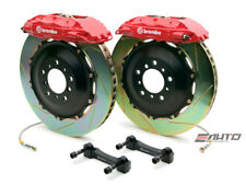 Brembo Rear GT BBK Brake 4piston Red 380x32 Slot Disc Rotor Hummer H2 03-07