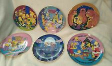 Simpsons Collector Franklin Mint Plate Collection New 6 Plates Mint