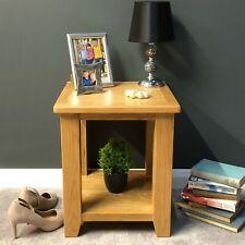 Oak Lamp Table Solid Wood End Table / Living Room Side Unit / Grange