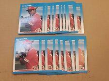 1987 Fleer Barry Larkin RC 20 Count Lot NM-MT+ HOF Reds Rookie