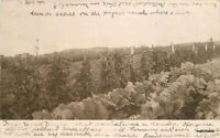 1907 Farming Agriculture Haynes Ranch Montana RPPC Real photo postcard 1865