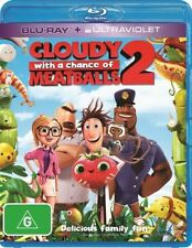 💥 Cloudy With A Chance Of Meatballs 2 (Blu-ray, 2014)