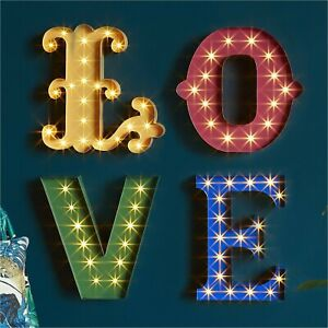 Edited by Erica Davies Light Up Love Sign #16