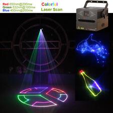 500mW RGB Animation Laser Projector Light DMX ILDA SD DJ Party Stage Lighting