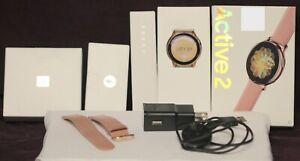 SAMSUNG GALAXY ACTIVE 2 LTE #SM-R835U ROSE GOLD SMARTWATCH