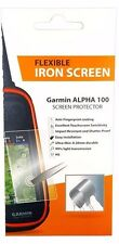 Handheld Flexible Iron Screen Saver Protector Shatter Proof for Garmin Alpha 100