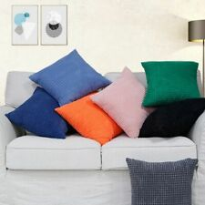 Home Sofa Car decoration Corn grain Jacquard corduroy Pillowcase Cushion cover