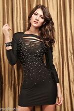 Normalgröße Damenkleider aus Polyester in Größe 38