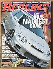 REDLINE ISSUE 40 JULY 2001 CIVIC POLO CIRSA FIESTA TURBO METRO ESCORT VAN
