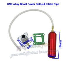 Boost Power Bottle Intake Pipe For Mini ATV Quad Dirt Pocket Bike 47cc 49cc