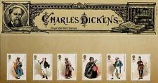 GB 2012 CHARLES DICKENS PRESENTATION PACK NO 473 MINT STAMP SET SG 3330-35  #473